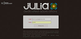 Julia - Login Screen by Nexss.com